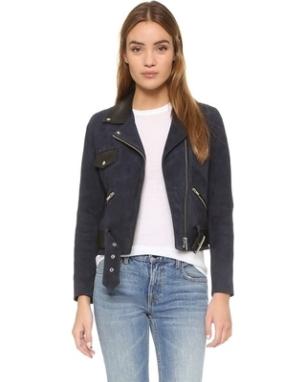 VEDA - Custom Suede Jacket $1,318.47